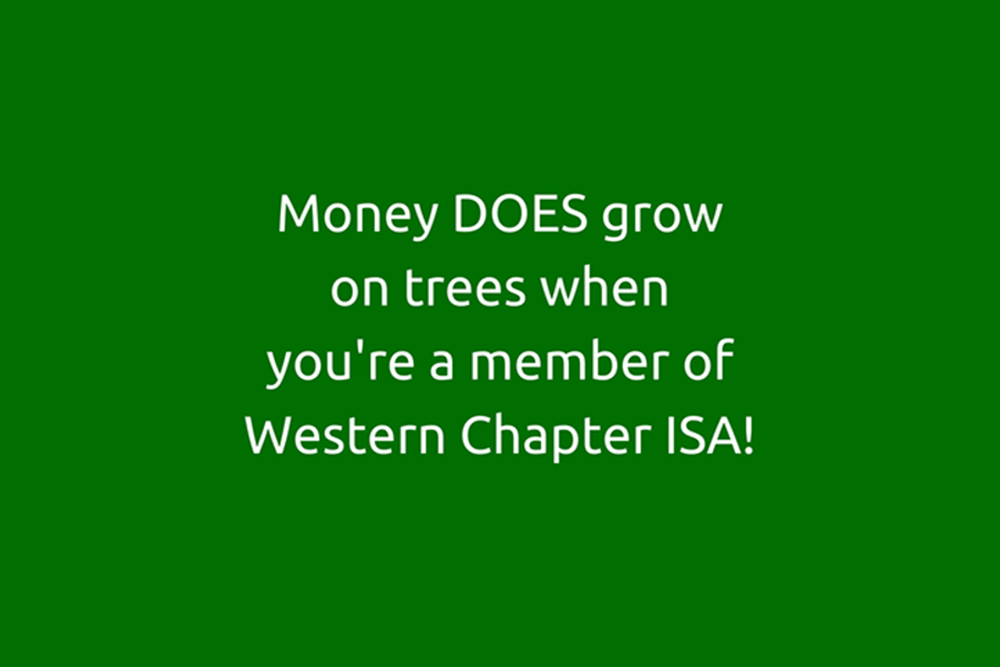 Membership Information Western Chapter International Society Of